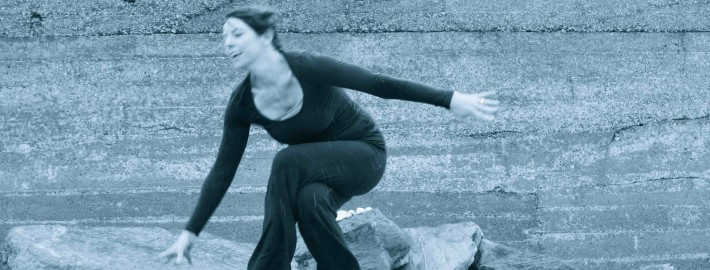 Falling. Yoga. Laughing. Trying.